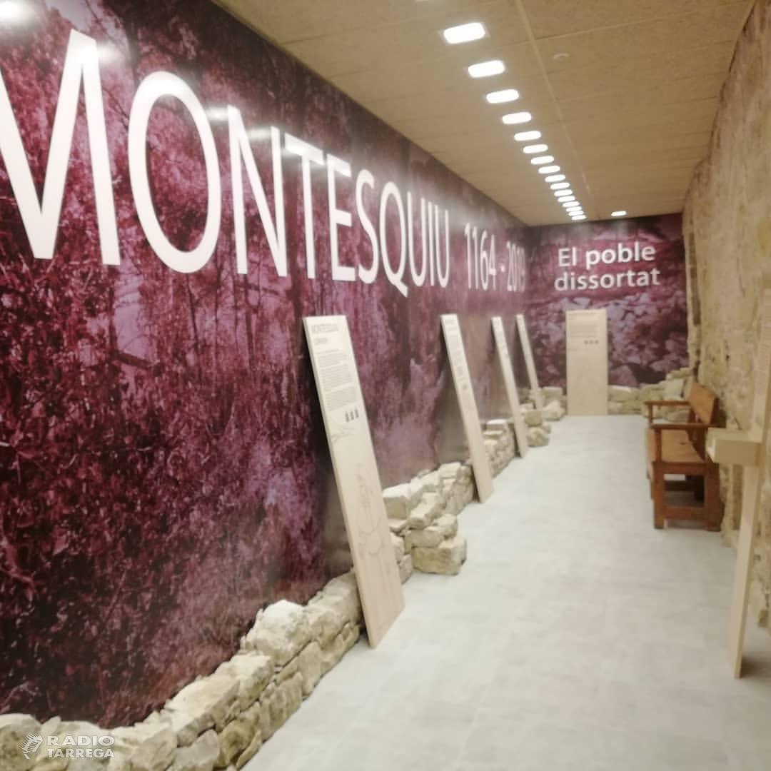 Vallbona de les Monges obre les portes de l'Espai Montesquiu