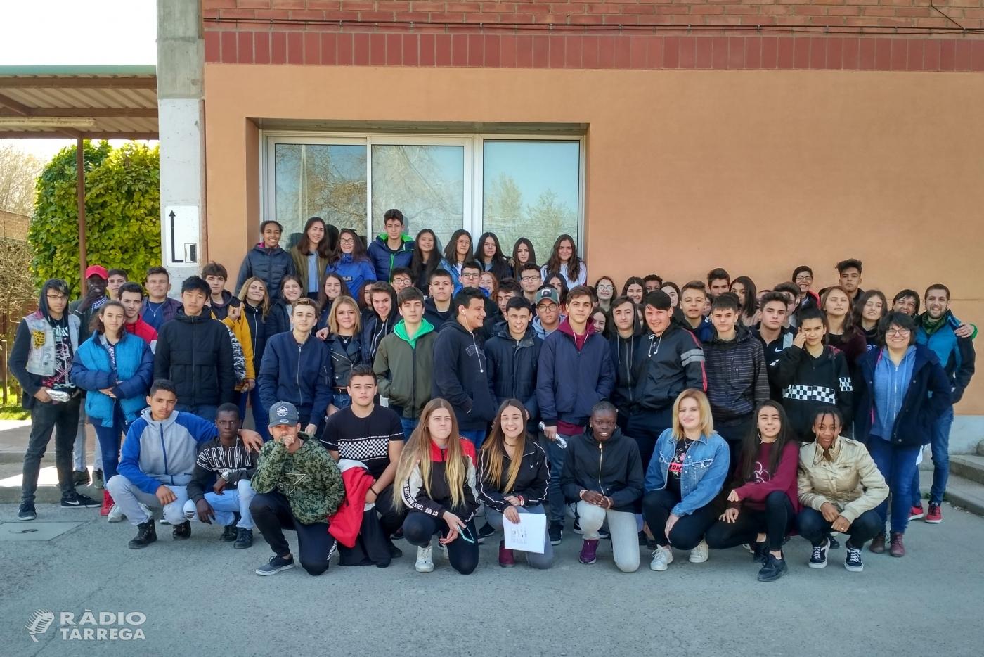 L'Ajuntament de Tàrrega imparteix tallers de prevenció contra la violència de gènere a l'alumnat de l'Institut Alfons Costafreda