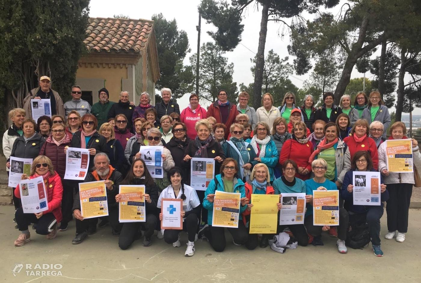 Tàrrega celebra el Dia Mundial de l'Activitat Física al Parc de Sant Eloi divulgant els beneficis de l'esport i l'alimentació saludable