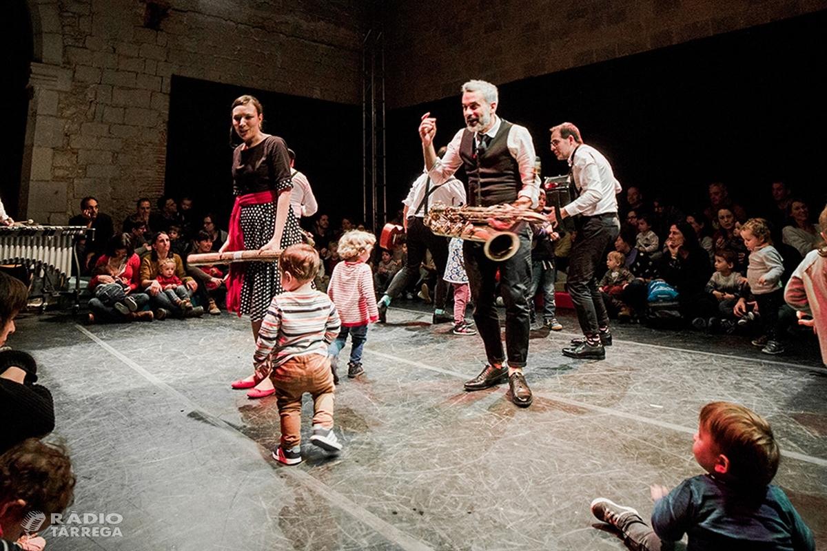 El cicle Tàrrega Sona acosta la cultura musical als infants de la mà del grup familiar Pels Més Menuts el diumenge 7 d'abril