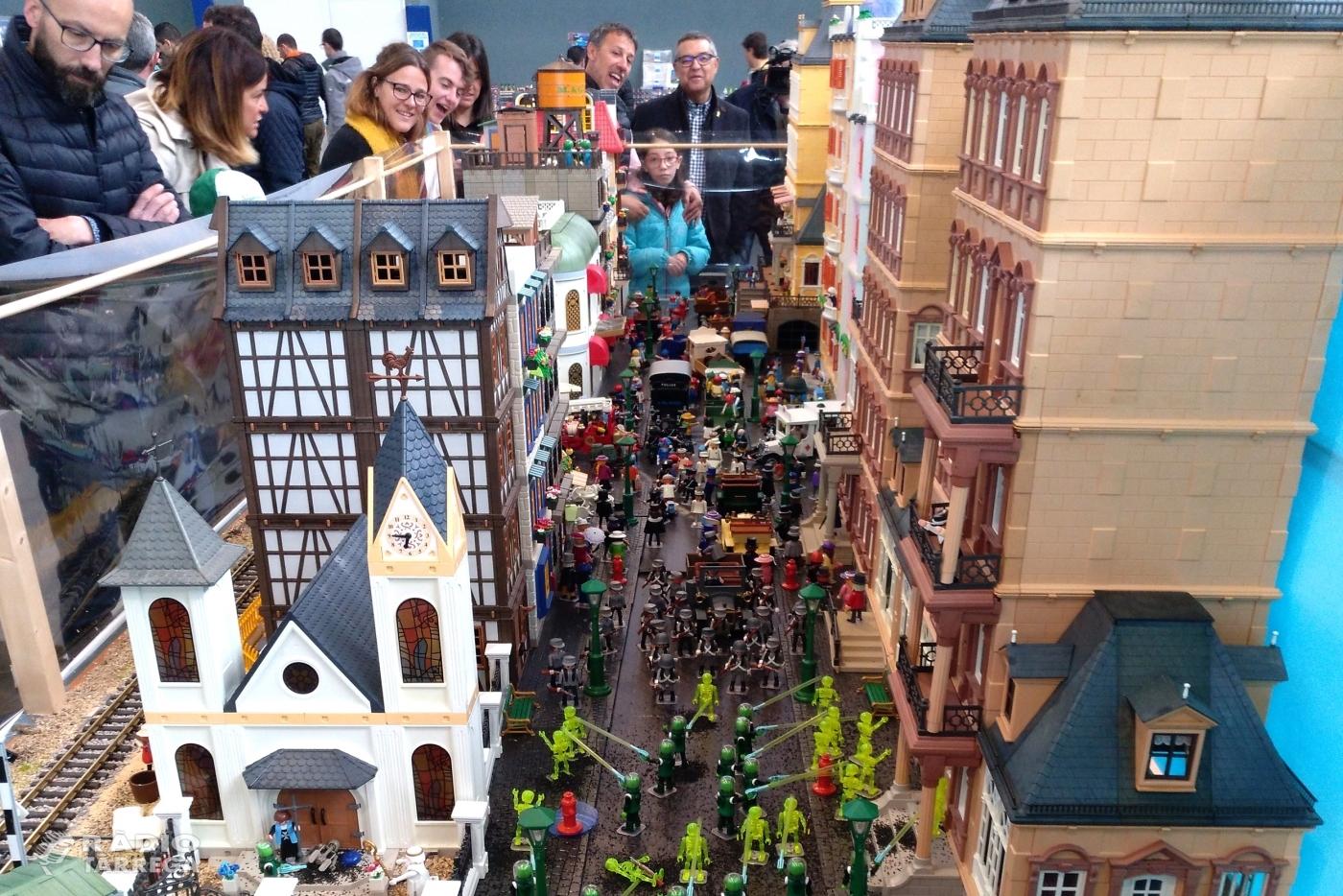 """Tàrrega, capital dels """"clicks"""" amb la celebració de la 8a Fira Playmobil"""