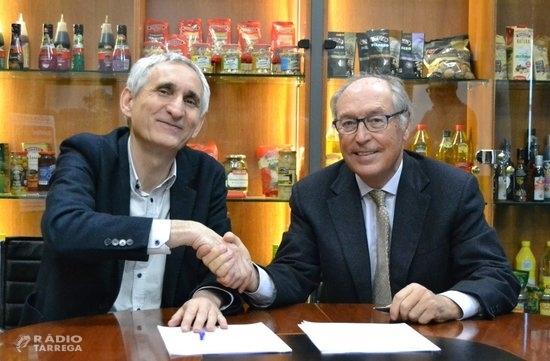 Borges i l'IRTA col·laboraran en recerca i desenvolupament tecnològic en diversos àmbits agroalimentaris