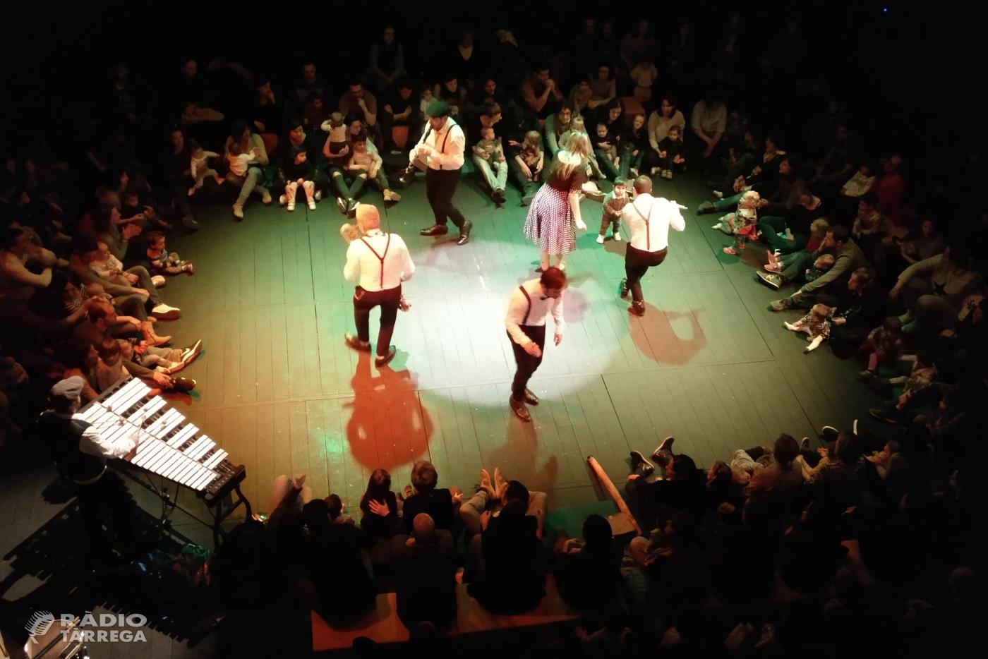 """Èxit de la Companyia """"Pels més Menuts"""" a Tàrrega amb un concert que acosta el llenguatge musical als infants"""