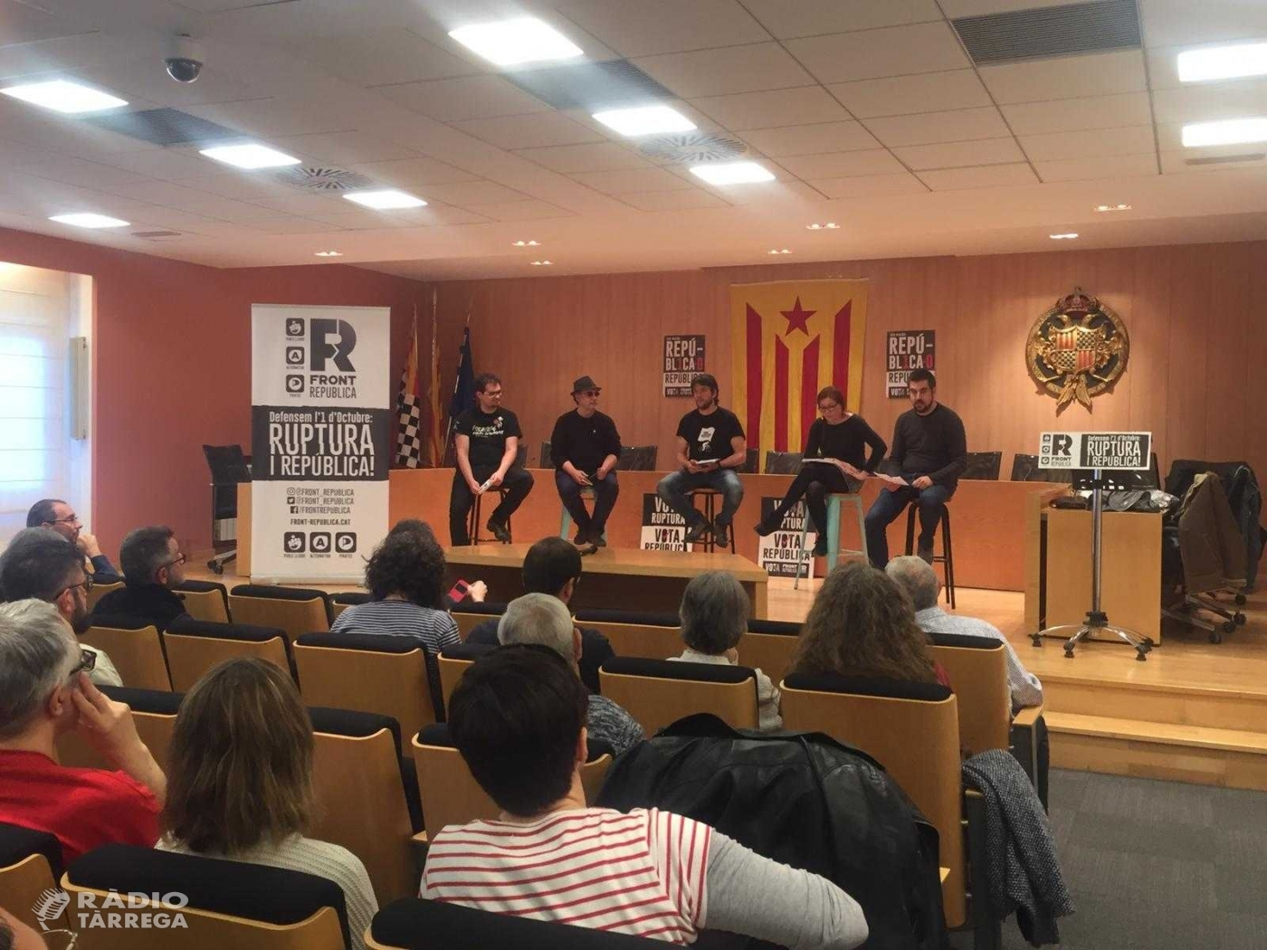 Front Republicà inicia la campanya electoral a Tàrrega