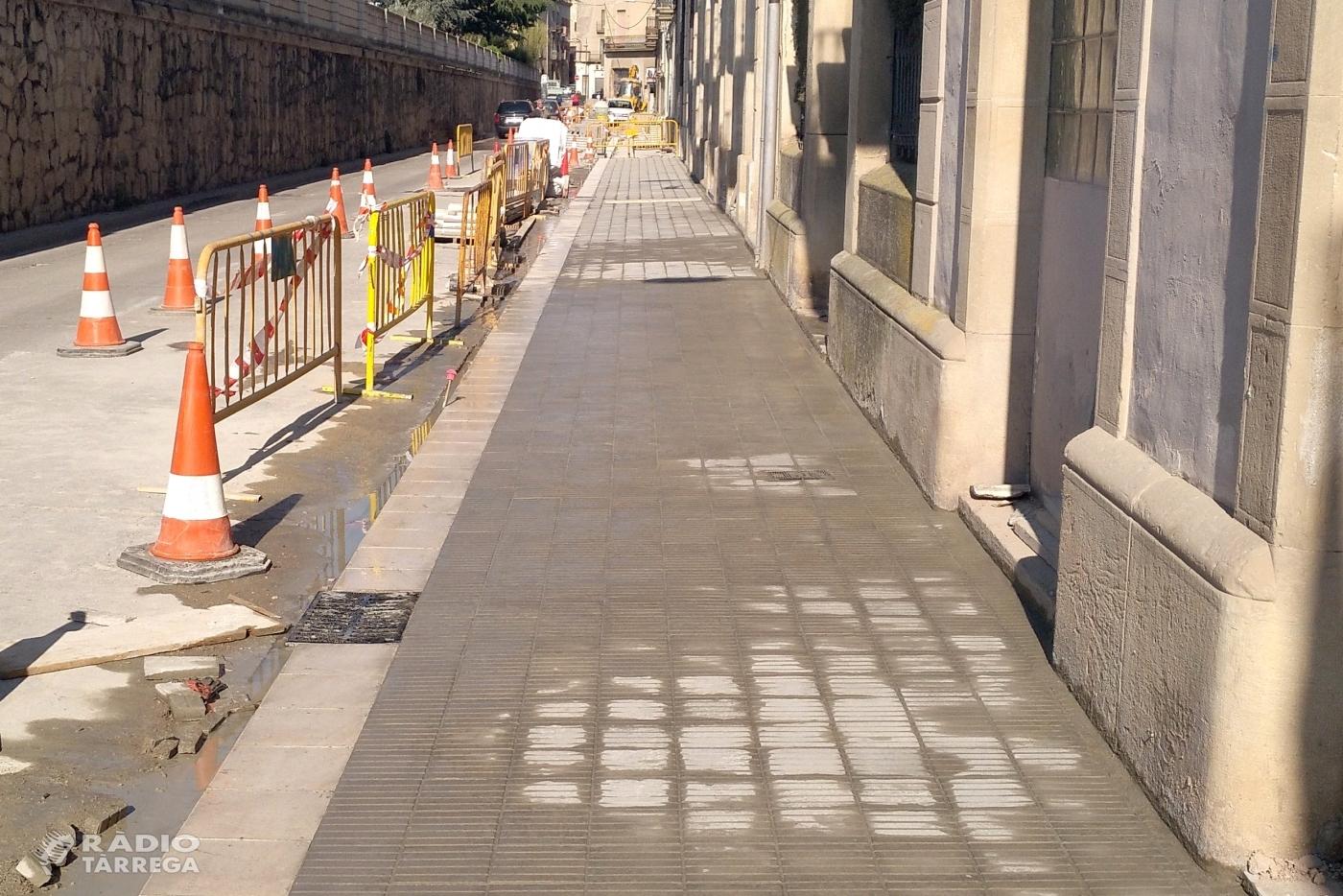 L'Ajuntament de Tàrrega adjudica els treballs per renovar el paviment asfàltic en sis vials de la ciutat
