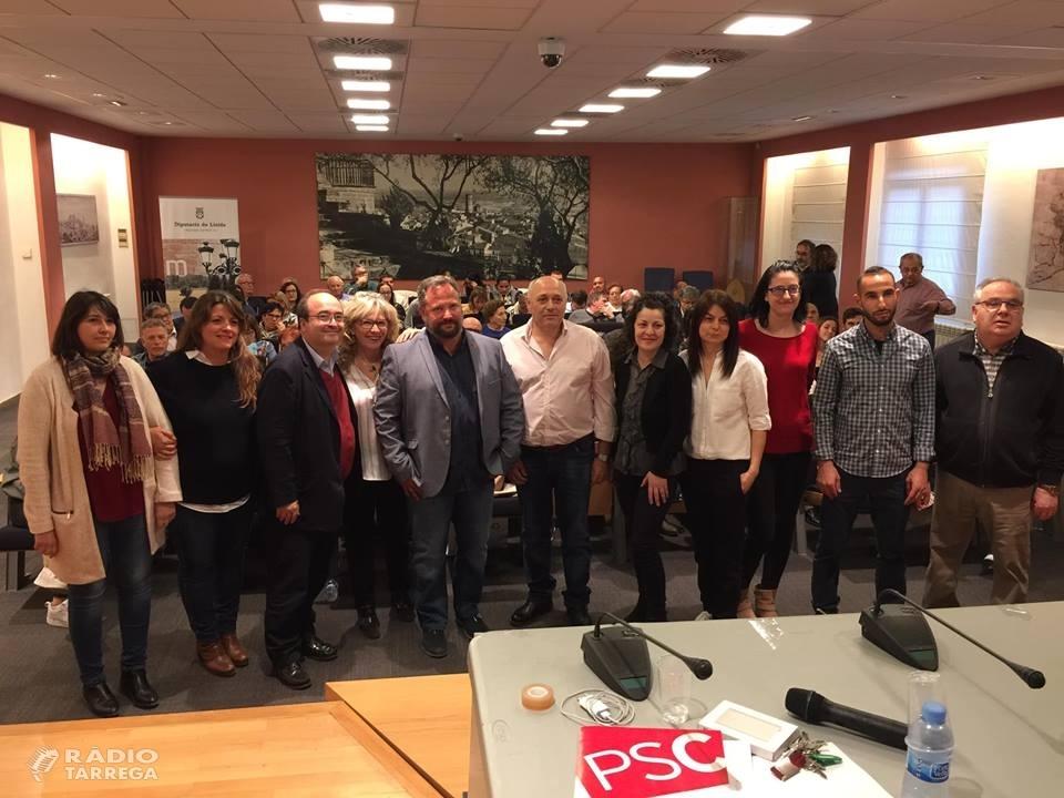 El PSC de Tàrrega presenta la seva candidatura a les eleccions municipals del maig