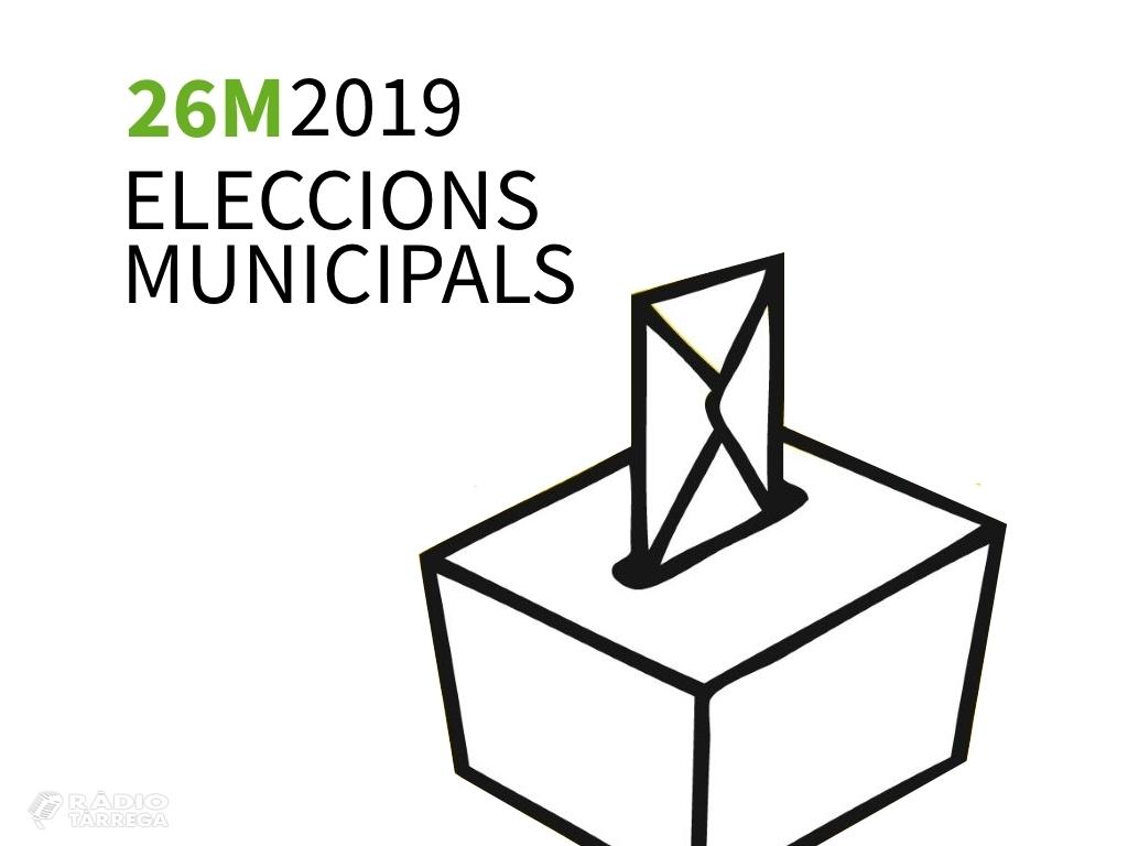 Un total de nou candidatures optaran a l'alcaldia de Tàrrega a les eleccions municipals del 26 de maig