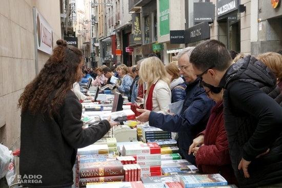 Rafel Nadal i Gerard Quintana encapçalen les vendes d'aquest Sant Jordi a Lleida