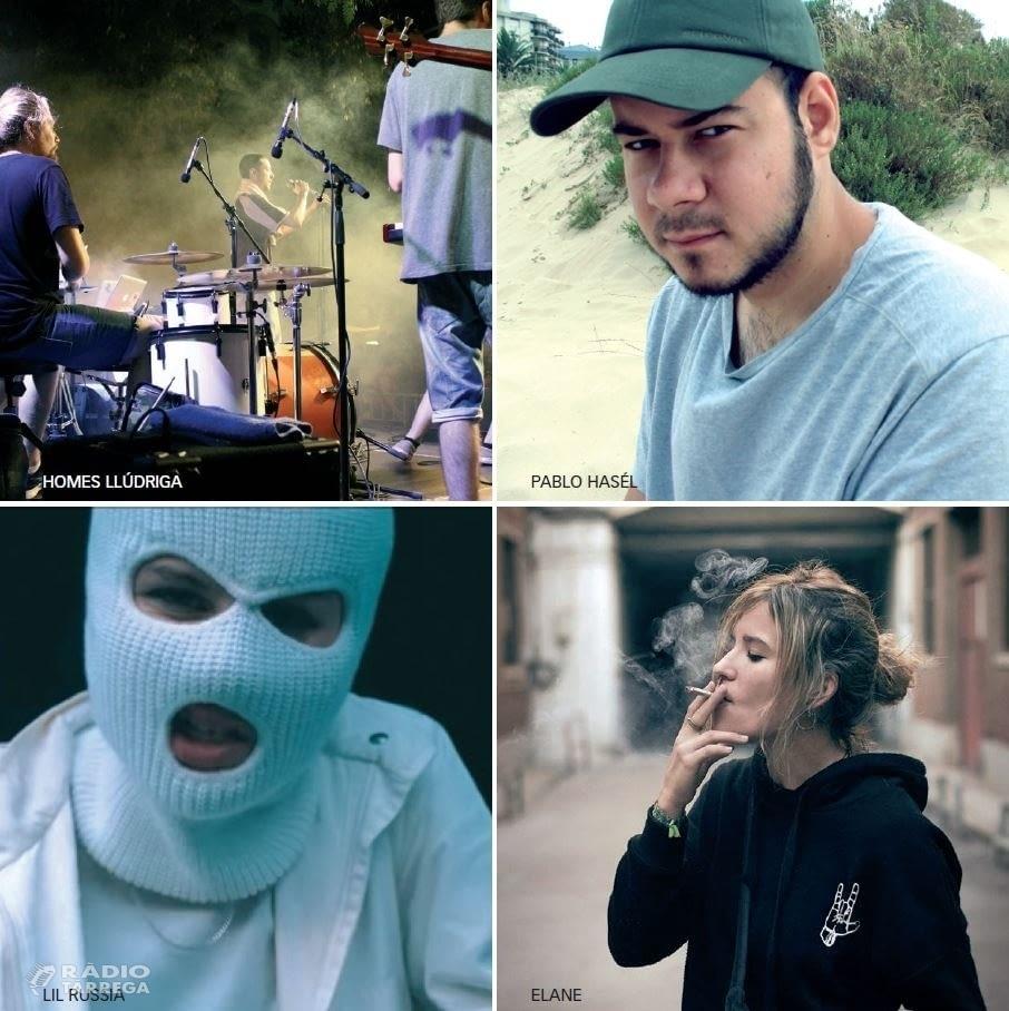 Tàrrega Sona a rap el dissabte 27 d'abril amb els sons reivindicatius i urbans d'Homes Llúdriga, Pablo Hasél, Lil Russia i Elane