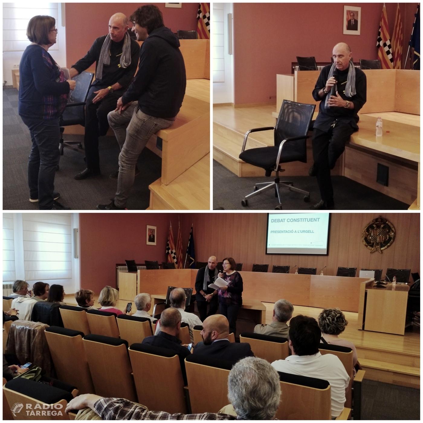 Tàrrega acull una reunió del Consell Assessor per l'Impuls del Fòrum Cívic i Social pel Debat Constituent, amb Lluís Llach