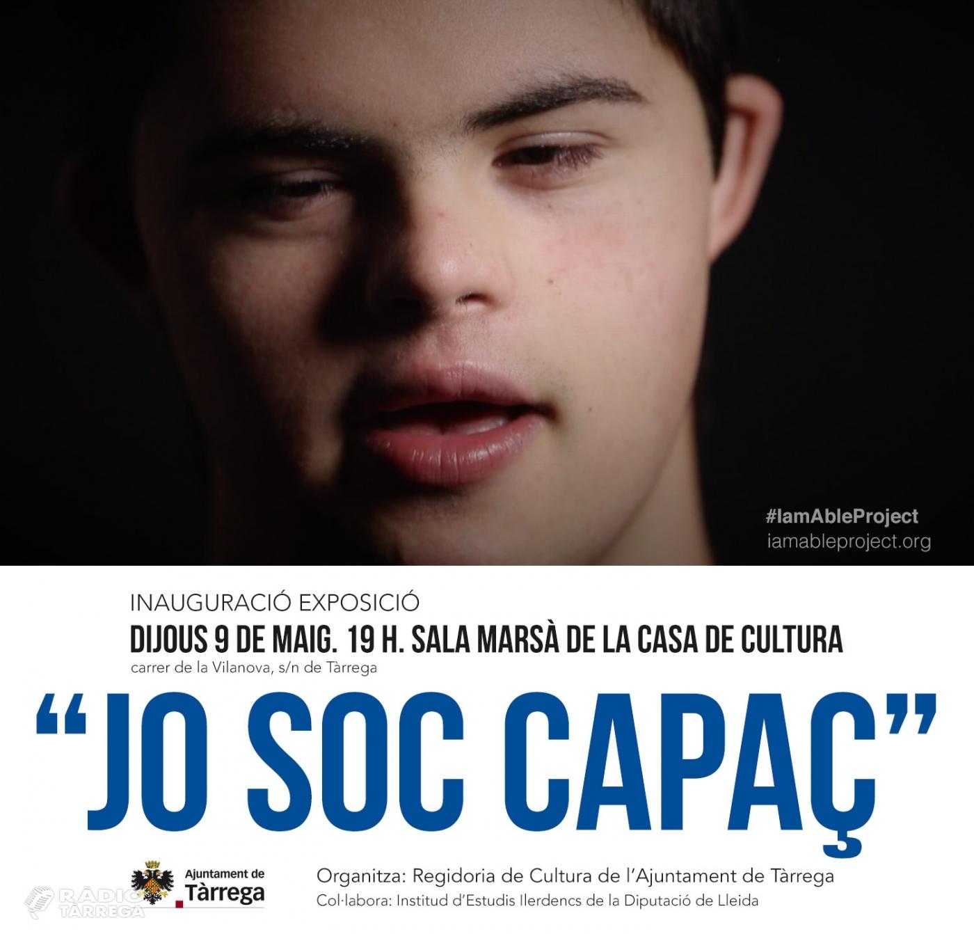 """El Quim Vilamajó reivindica les persones amb d'altres capacitats a través del projecte artístic """"Jo Soc Capaç"""""""