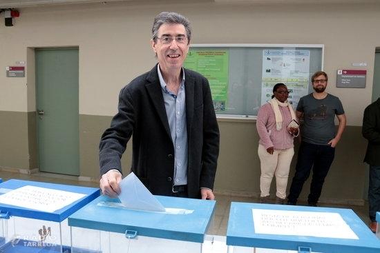 El catedràtic de Química Jaume Puy, nou rector de la Universitat de Lleida amb el 75,2% de vots vàlids