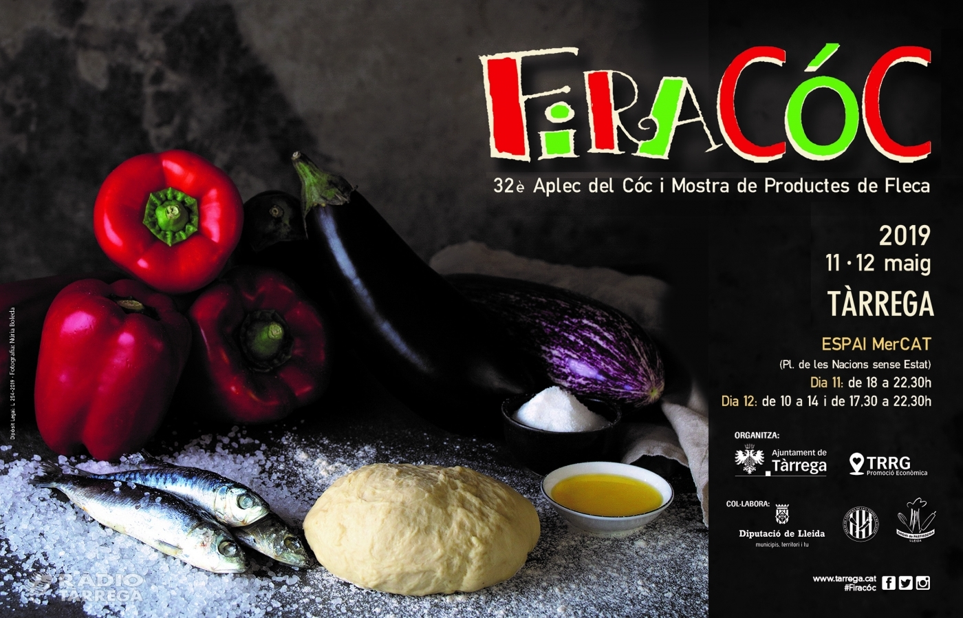 Tàrrega celebra la Firacóc 2019 els dies 11 i 12 de maig dins l'apartat gastronòmic de la Festa Major