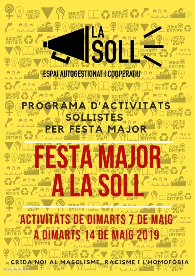 La Soll celebra el seu primer aniversari organitzant una setmana sencera d'activitats per la Festa Major