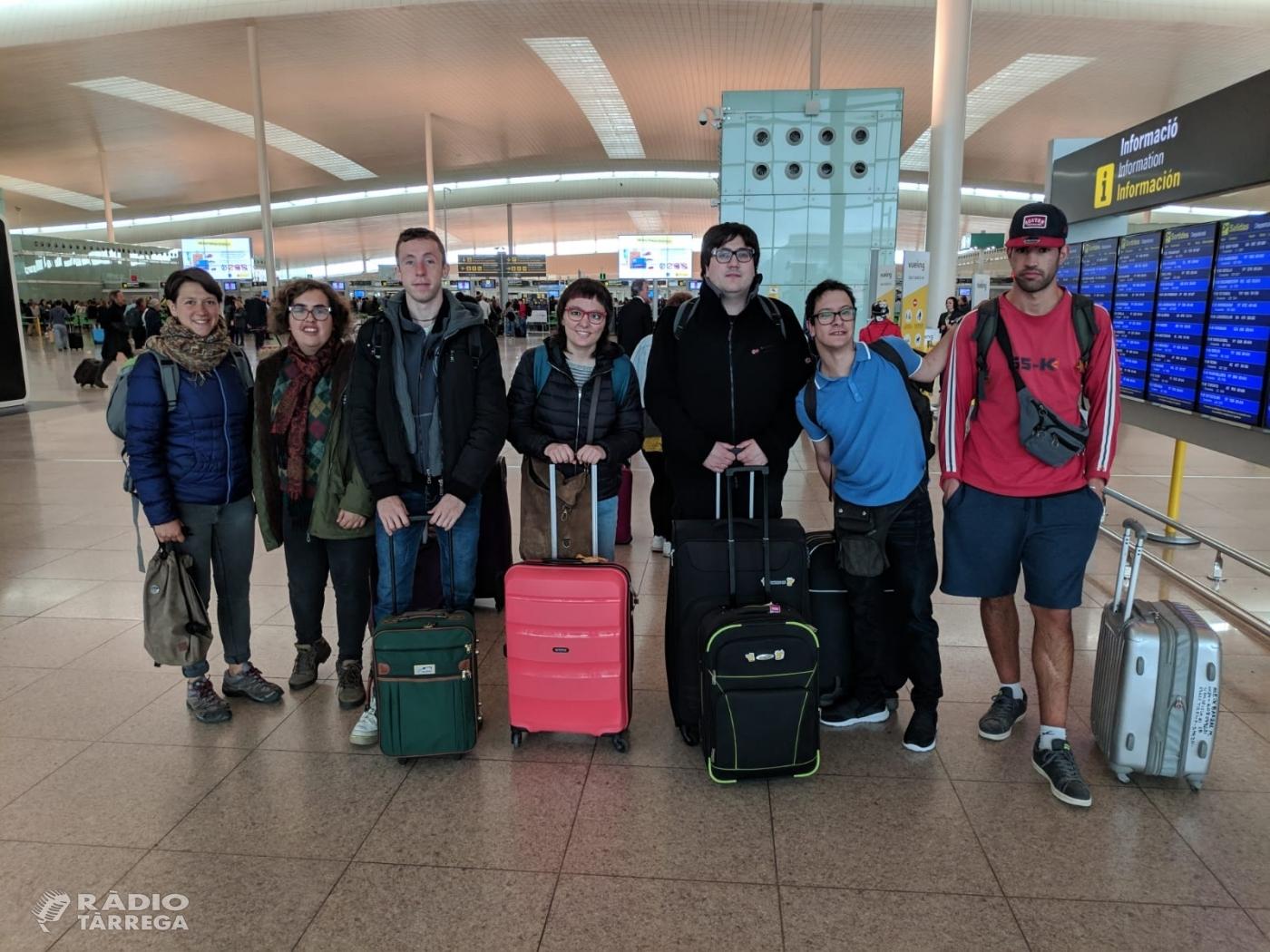 Marxa a Alemanya un grup de 5 joves amb d'altres capacitats a fer pràctiques laborals a través del programa TLN Mobilicat que gestiona el Grup Alba
