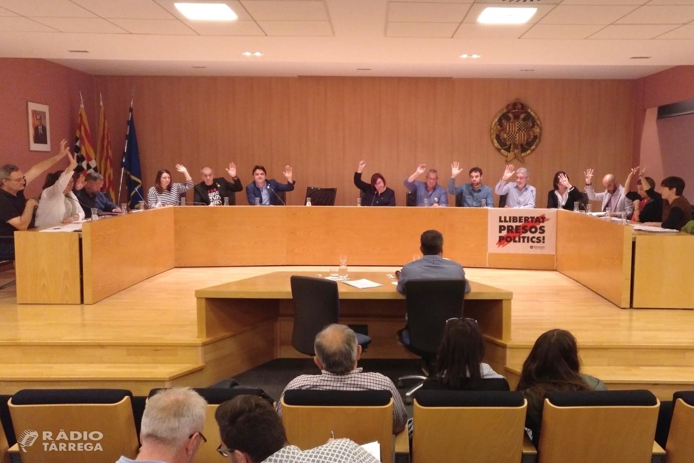 Tàrrega aprova la cessió d'uns terrenys municipals per possibilitar l'ampliació de l'Institut Alfons Costafreda