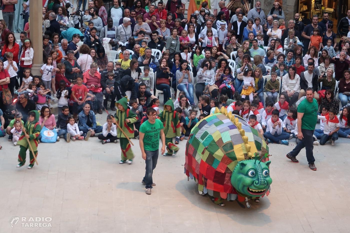 La cultura popular i la música prenen els carrers i places de Tàrrega en una altra Festa Major multitudinària