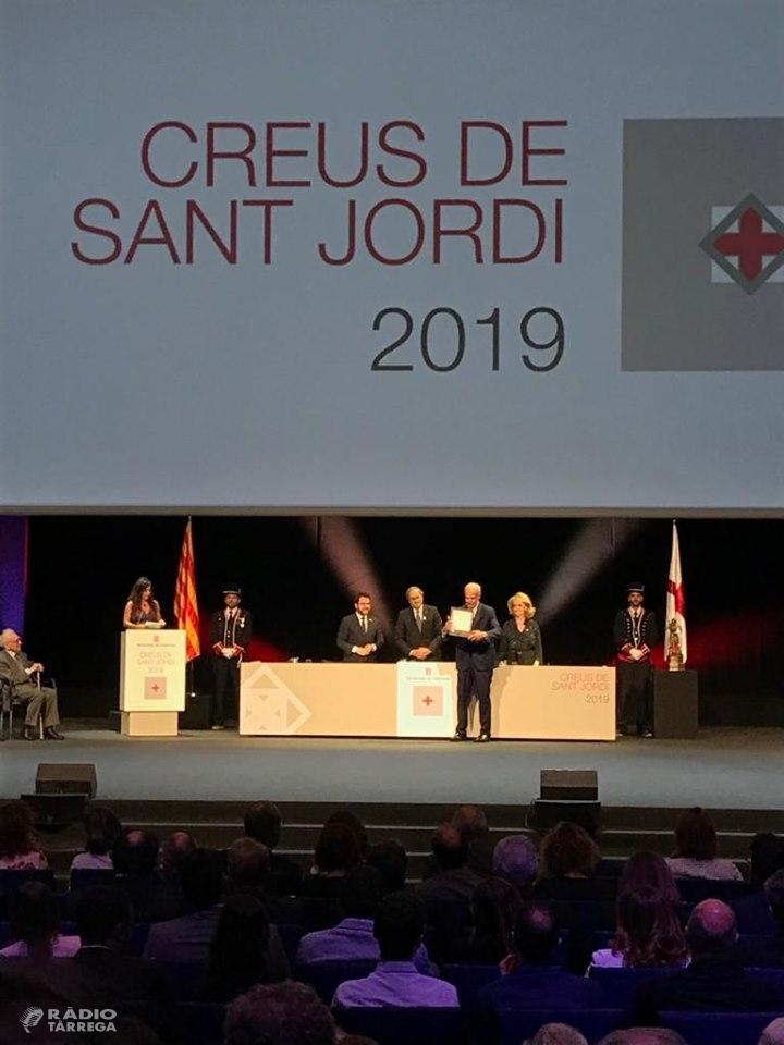 L'Ateneu de Tàrrega recull la Creu de Sant Jordi 2019 per la seva trajectòria com a motor de la Cultura Popular