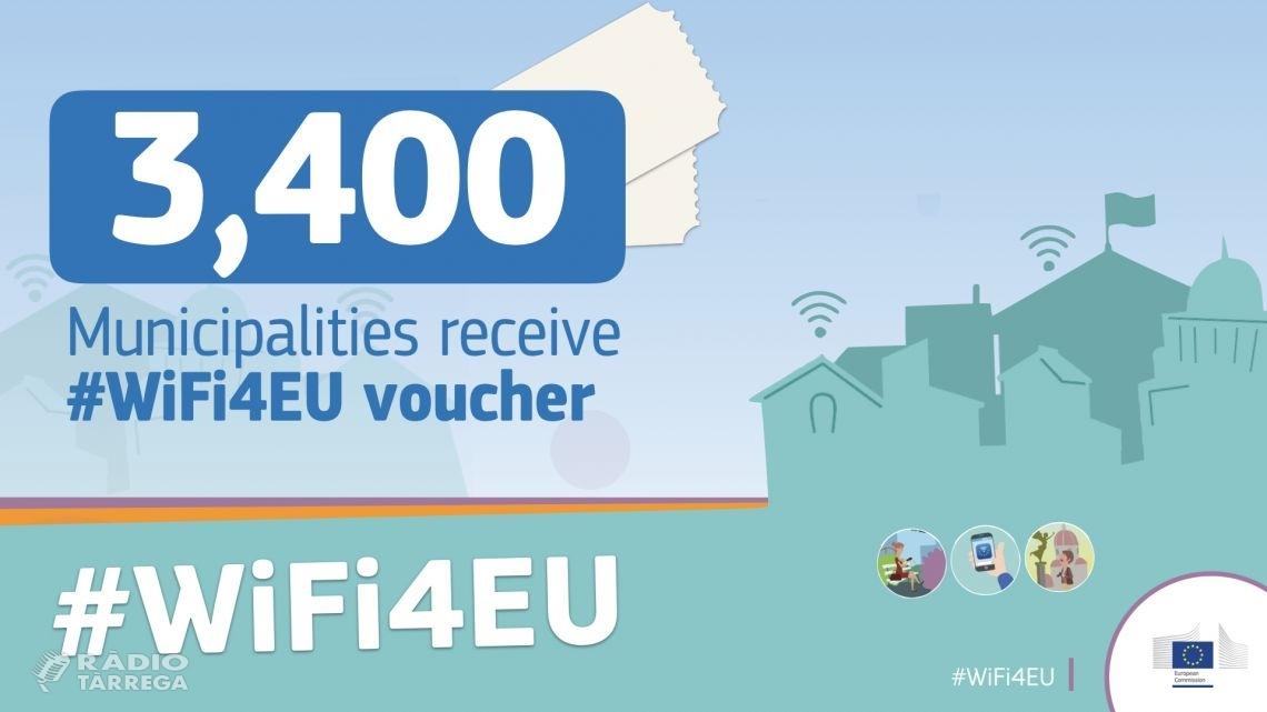 Cent municipis catalans, entre els que n'hi ha 6 de l'Urgell, disposaran de punts wifi gratuïts en espais públics gràcies a la iniciativa WIFI4EU de la Comissió Europea