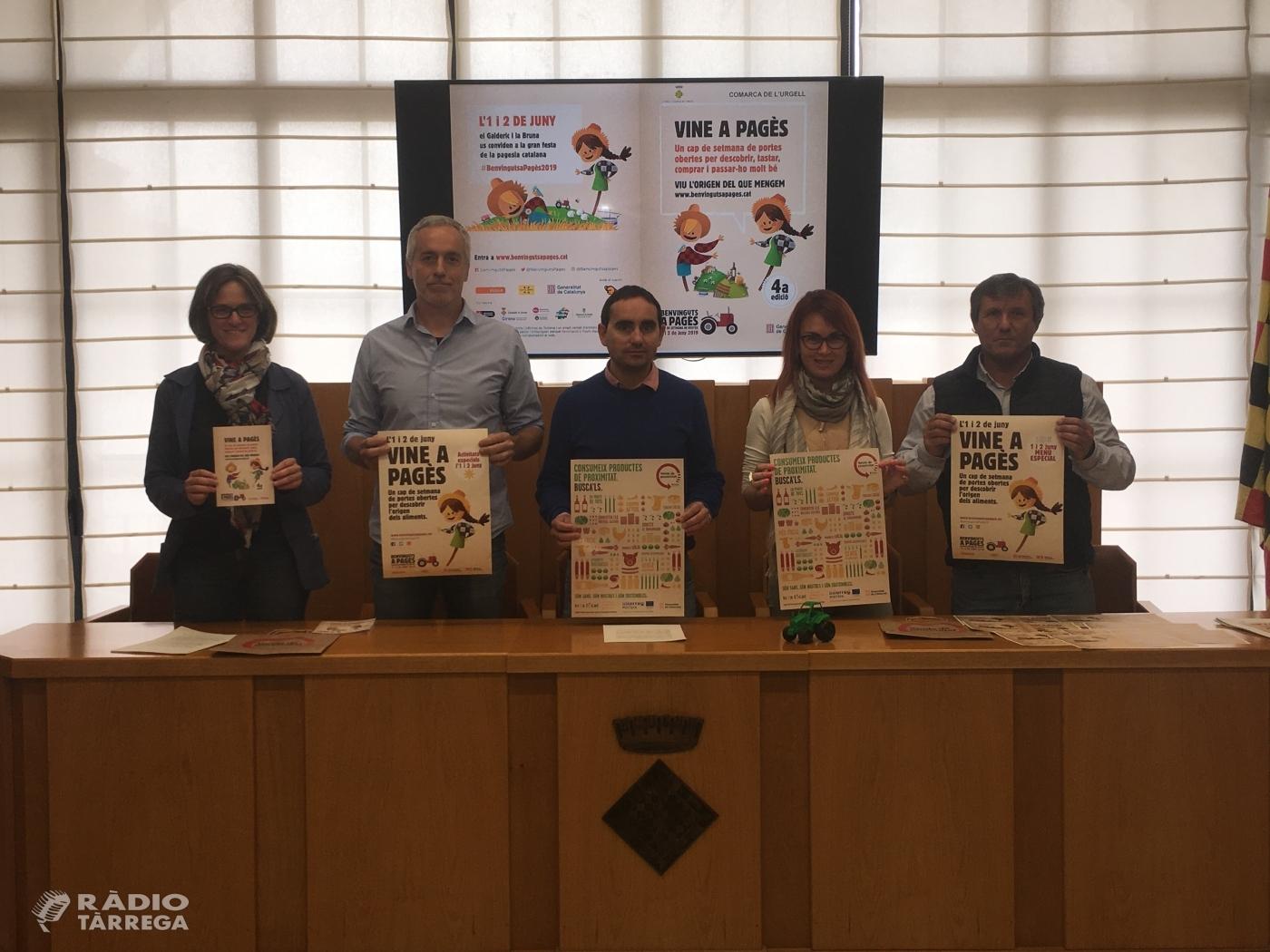 4ª Edició del cap de setmana del Benvinguts a Pagès a l'Urgell