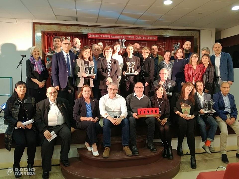 Pierrot Teatre de Centelles guanya el Concurs de Grups de Teatre Ciutat de Tàrrega amb l'obra Els Rústegues