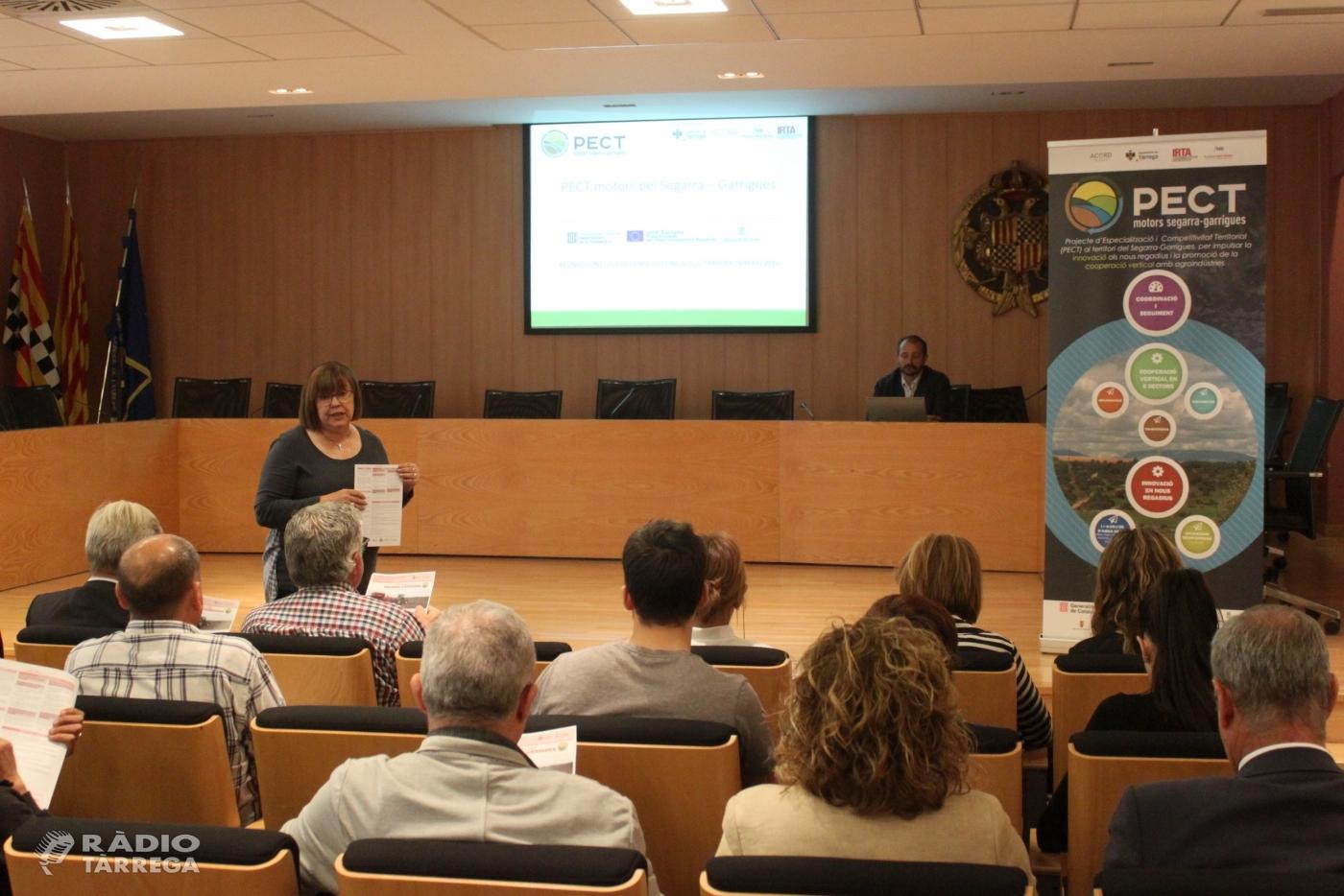 Tàrrega amplia les aliances estratègiques amb empreses i entitats per impulsar el creixement econòmic mitjançant el canal Segarra - Garrigues