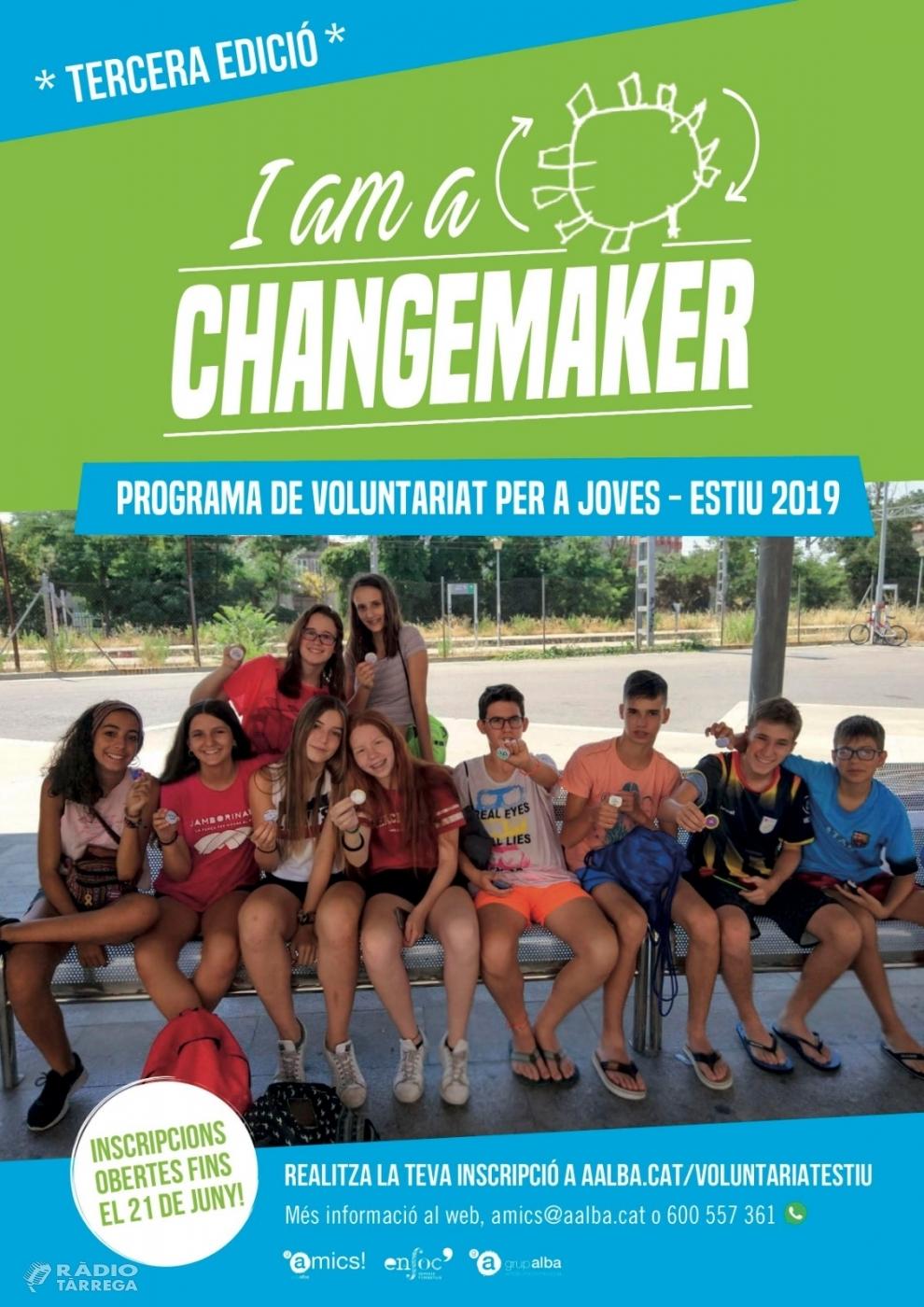 El Grup Alba obre incripcions del Programa de Voluntariat per a joves de l'estiu