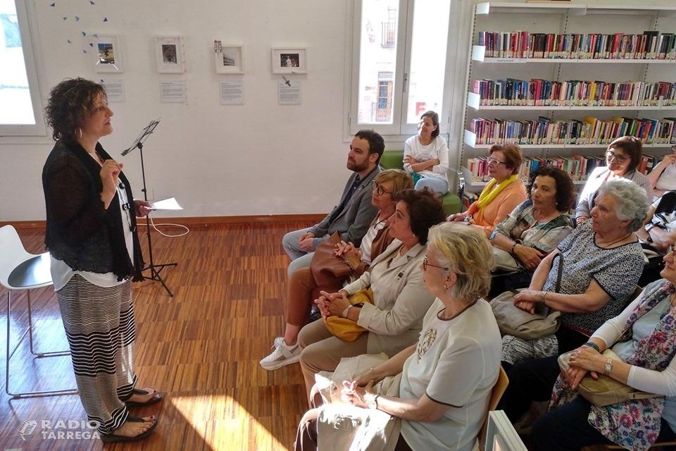 """La Biblioteca de Tàrrega acull l'exposició """"El llenguatge de les emocions. Imatges que parlen"""" d'Anna Pla"""