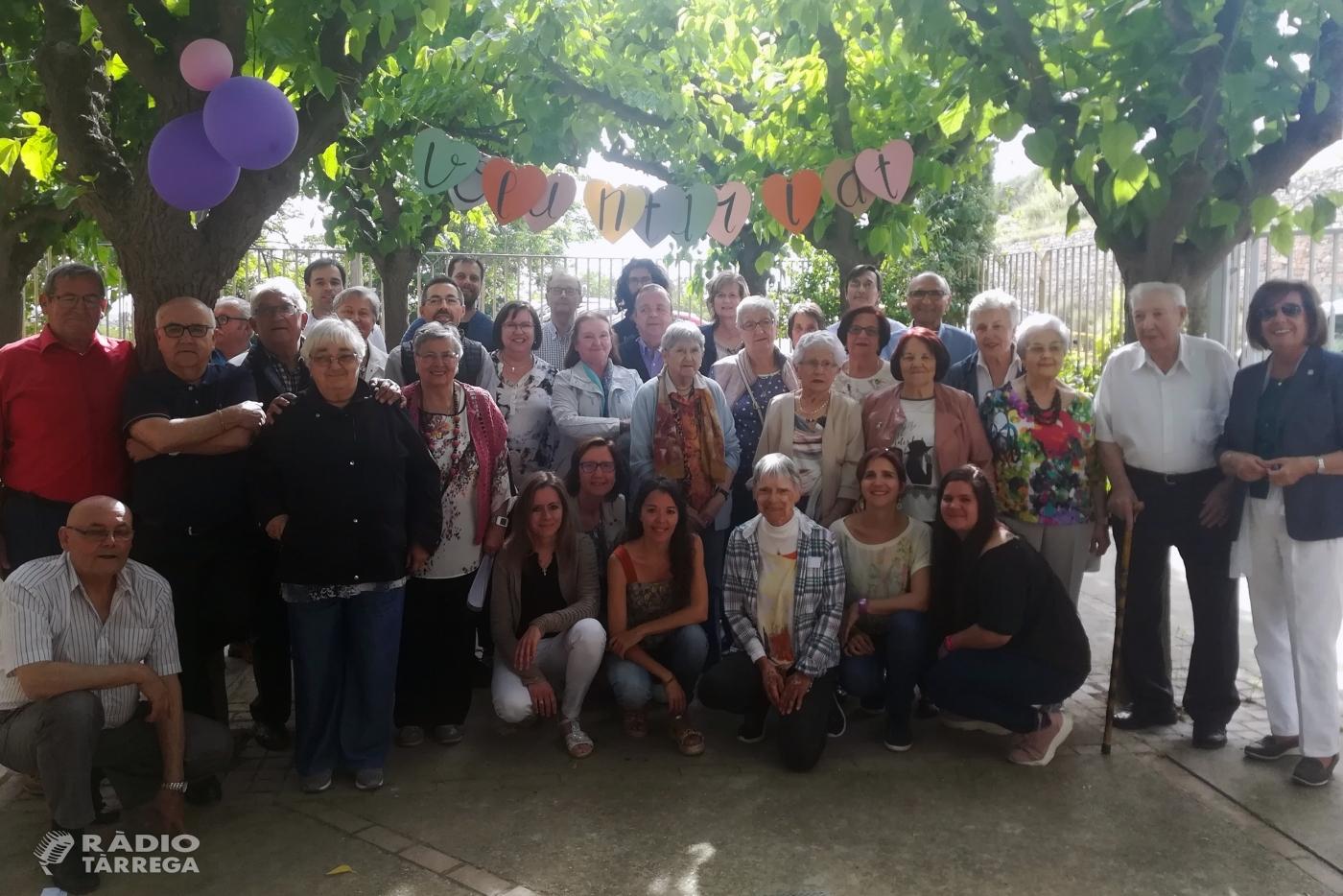 Tàrrega celebra la Festa del Voluntariat de la Residència de Gent Gran Sant Antoni