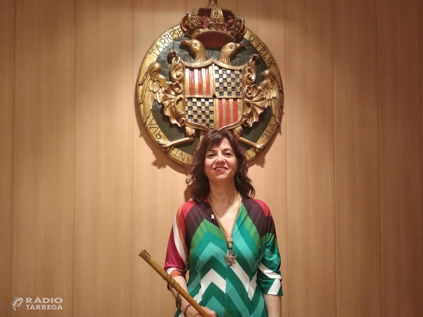 Maria Alba Pijuan Vallverdú és proclamada la nova alcaldessa de Tàrrega