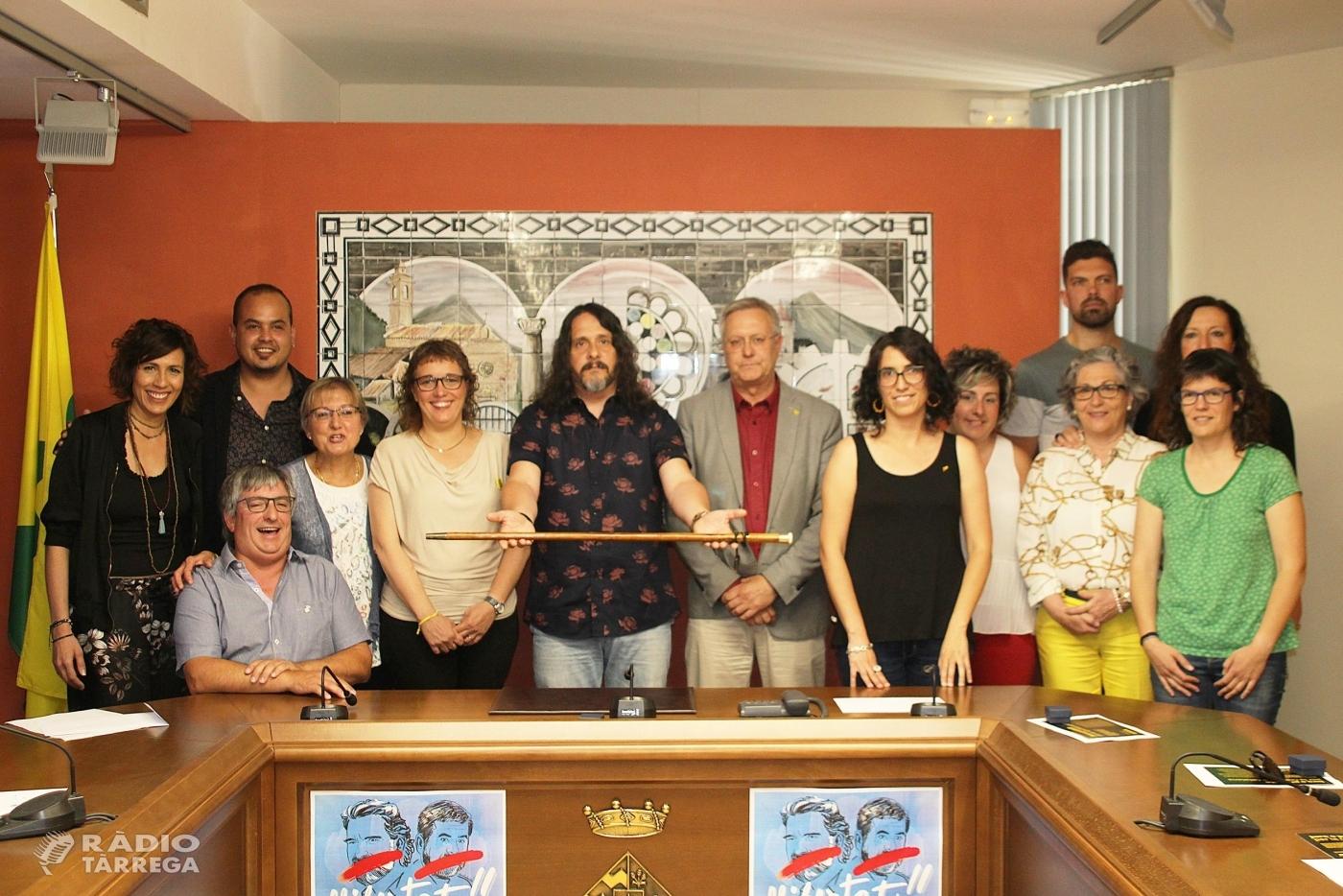 Jordi Estiarte nou alcalde de Bellpuig