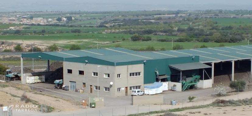 L'Agència de Residus de Catalunya invertirà dos milions d'euros en la planta de compostatge de Tàrrega