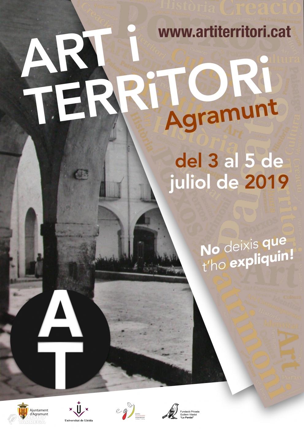 Sisena edició del curs d'estiu Art i Territori a Agramunt