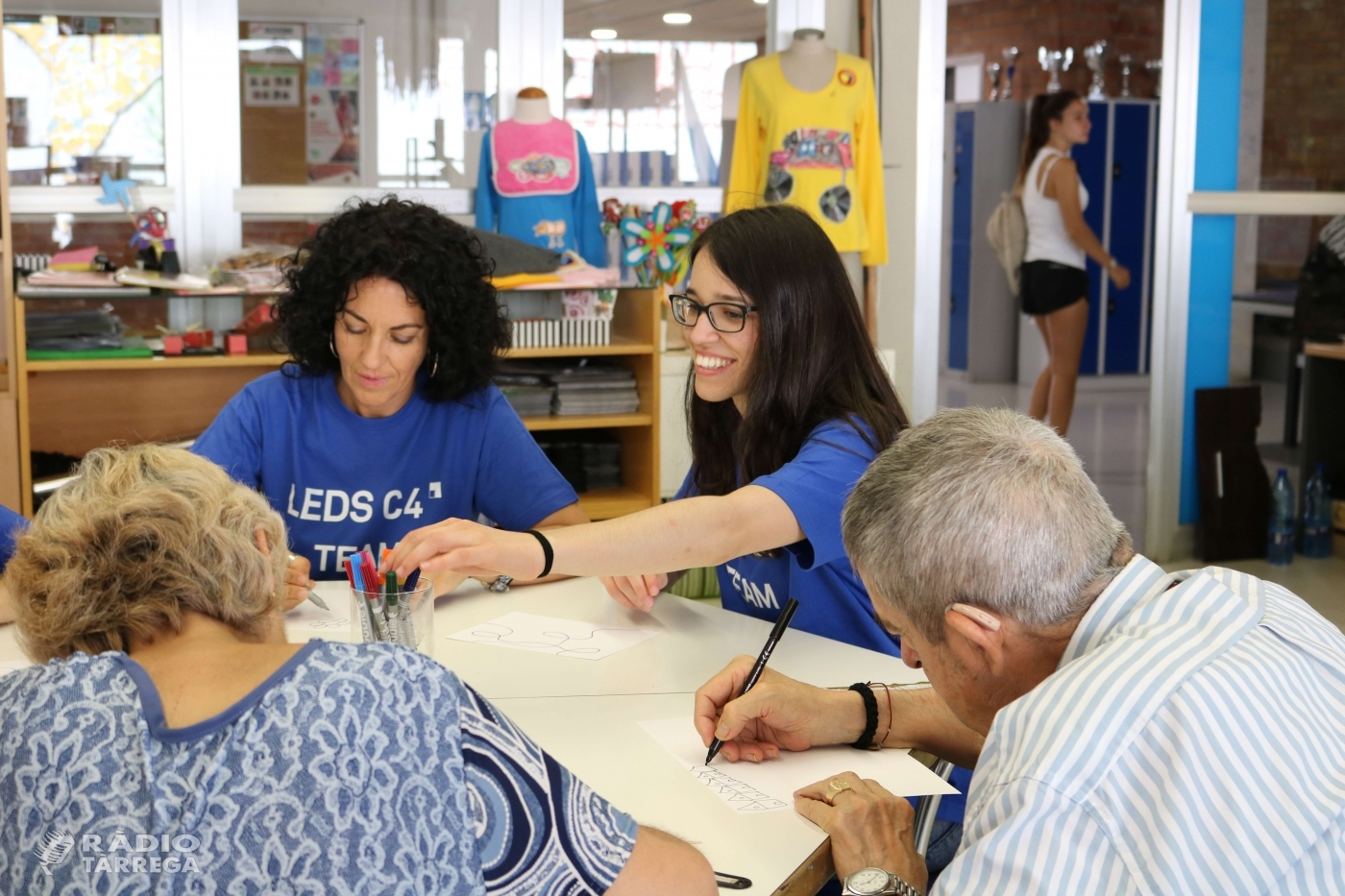 La companyia internacional LEDS C4 realitza una jornada de voluntariat corporatiu amb les persones del Grup Alba