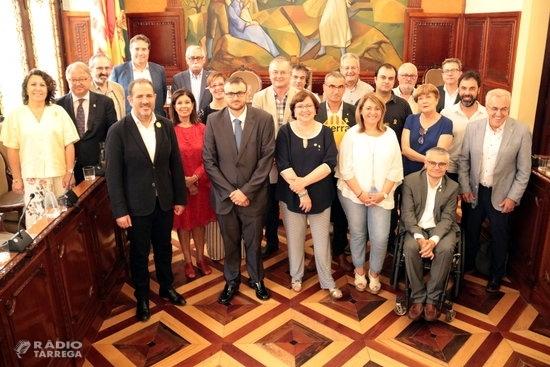 La Diputació de Lleida tanca el mandat en un Ple marcat pels comiats i l'absència de Reñé