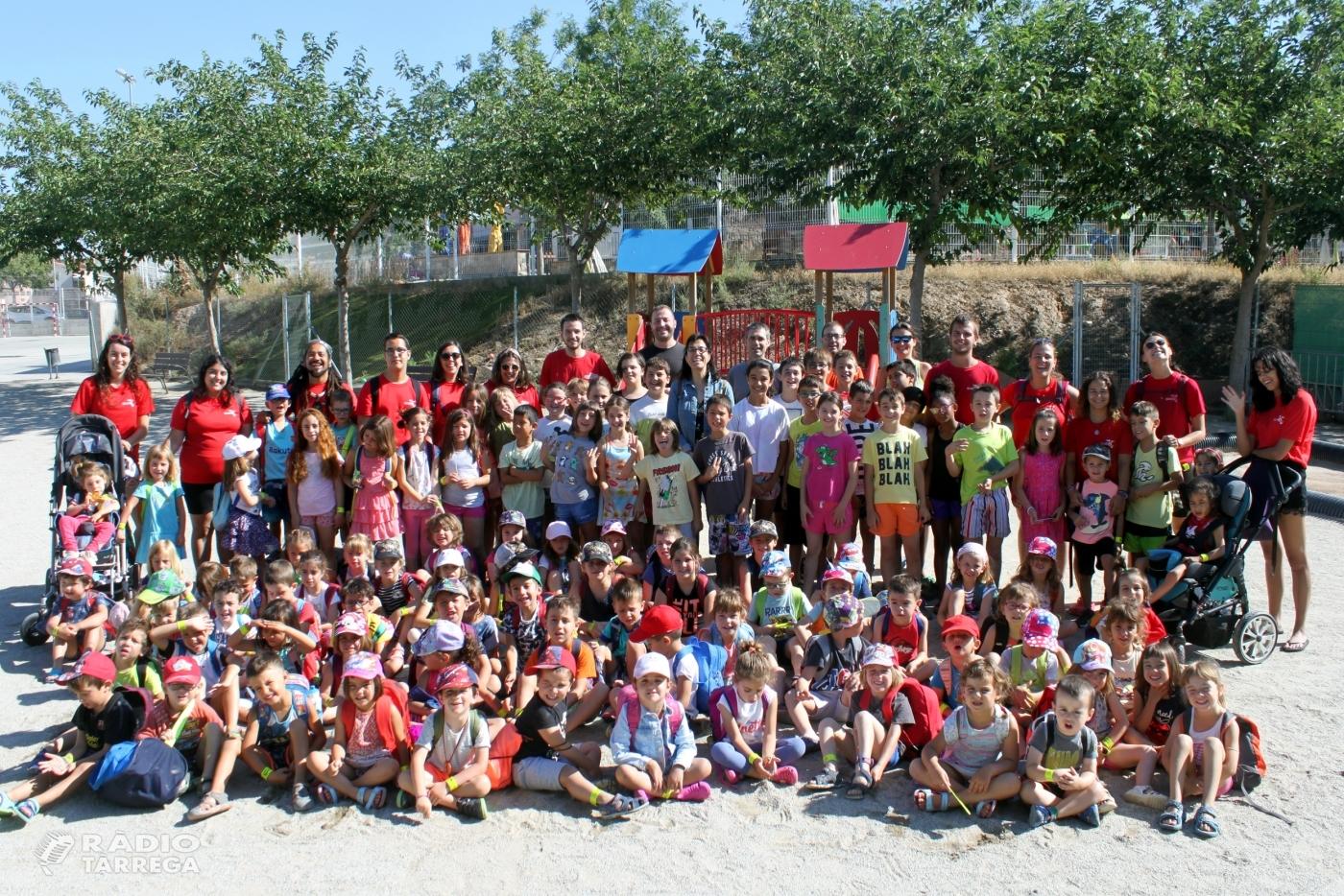 Èxit de participació als casals municipals d'estiu de Tàrrega, que apleguen 170 infants de 3 a 12 anys d'edat