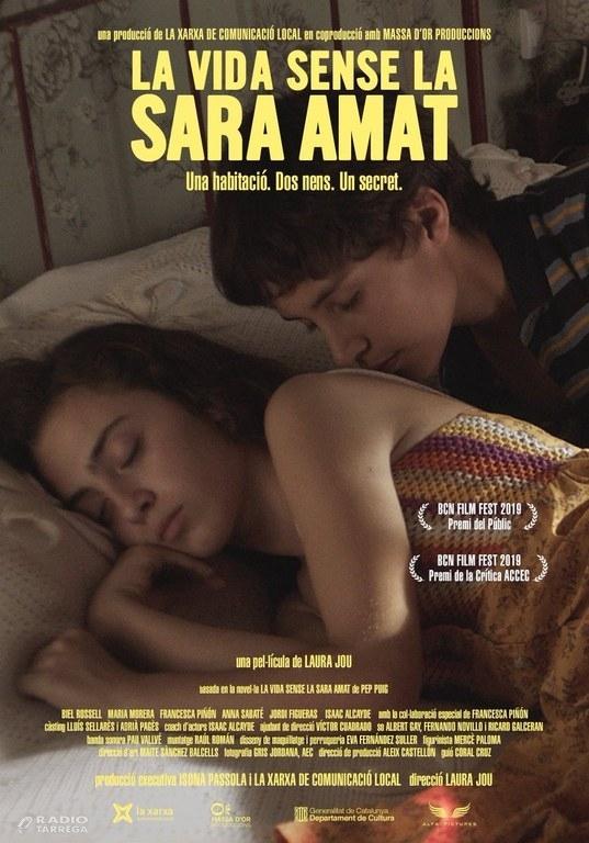 """Estrena a Tàrrega de la pel·lícula """"LA VIDA SENSE LA SARA AMAT"""" de Laura Jou, rodada al Talladell, amb la presència de l'equip del film"""