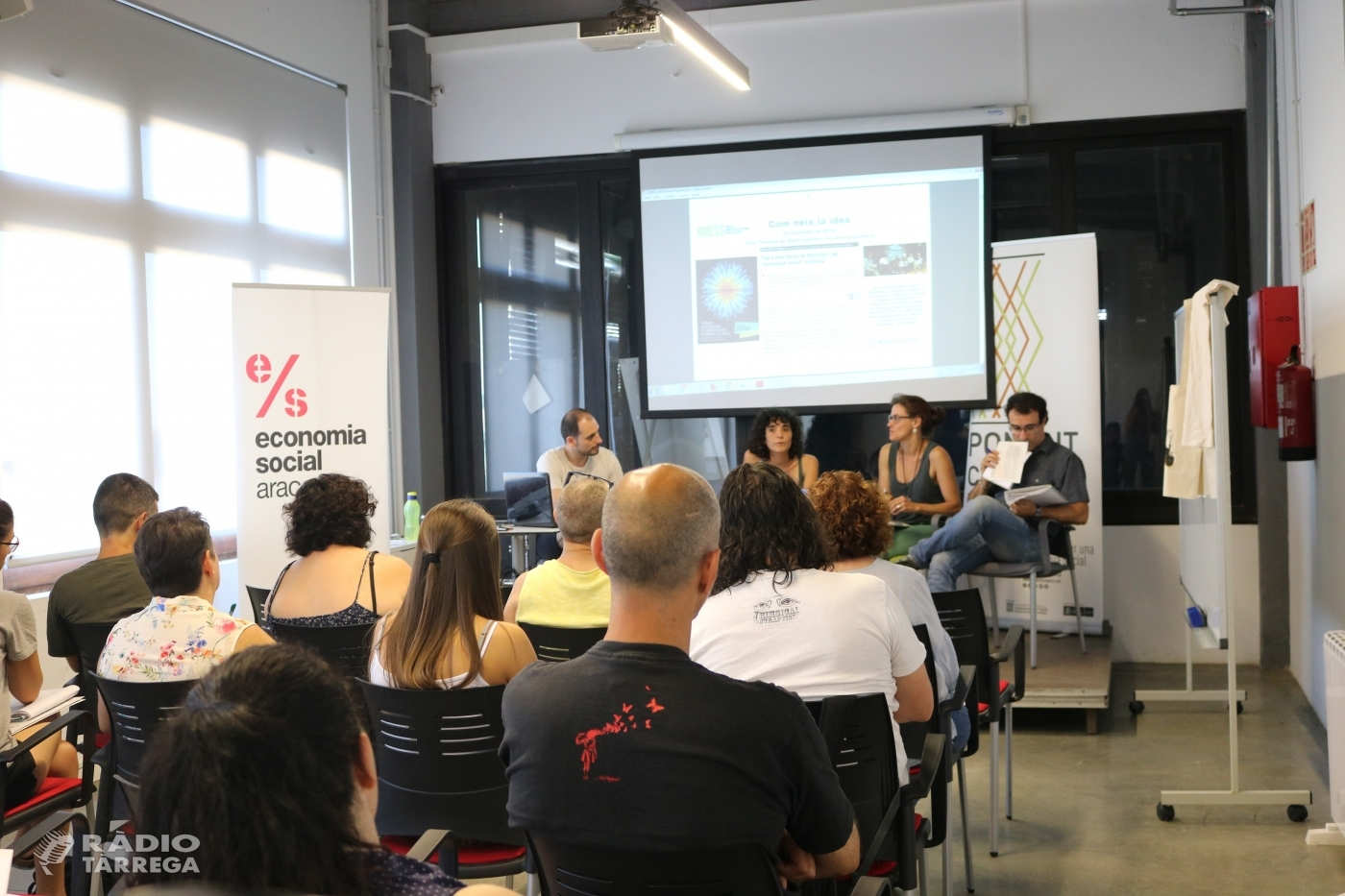 Ponent Coopera organitza a Tàrrega una jornada per impulsar el desenvolupament local a través de l'Economia Social i Solidàri
