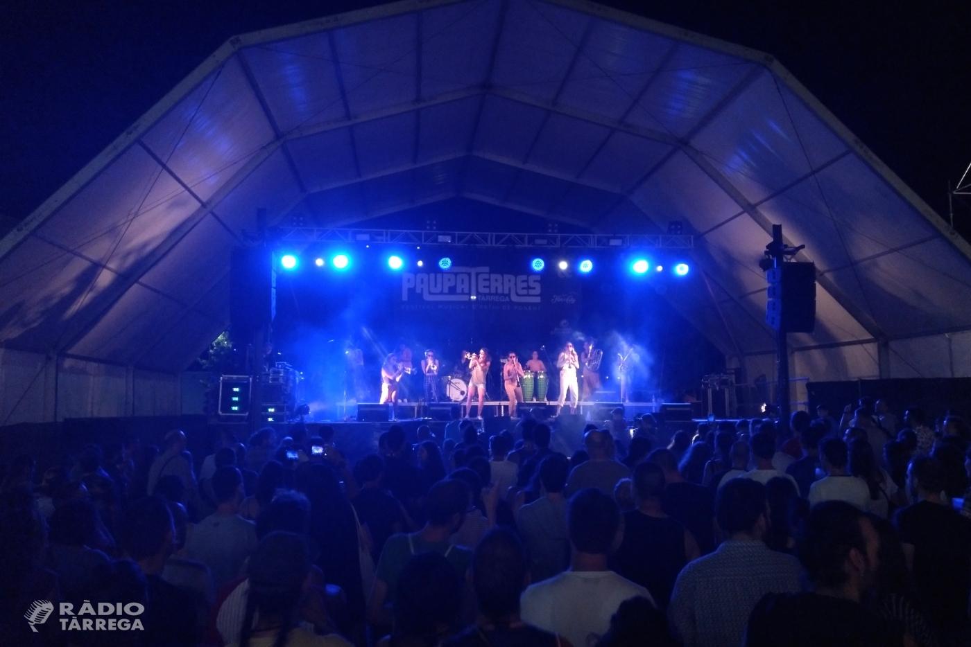 El 22è Festival Musical Paupaterres de Tàrrega renova el seu poder d'atracció i congrega més de 10.000 espectadors