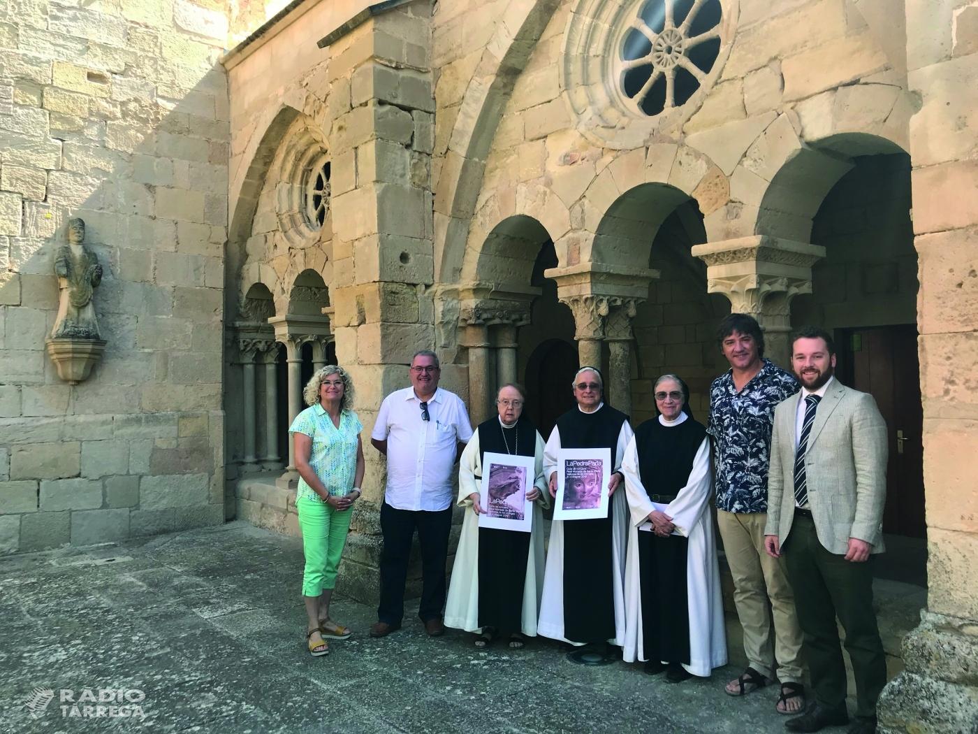 El Reial Monestir de Vallbona de les Monges celebra el 5è aniversari del cicle de música 'La Pedra Parla', amb tres concerts el 3 i 4 d'agost