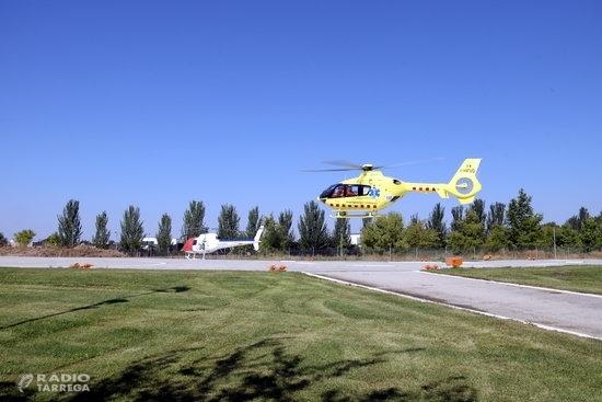 Lleida és on l'helicòpter nocturn del SEM ha fet més serveis en el primer any de funcionament amb un 30% del total