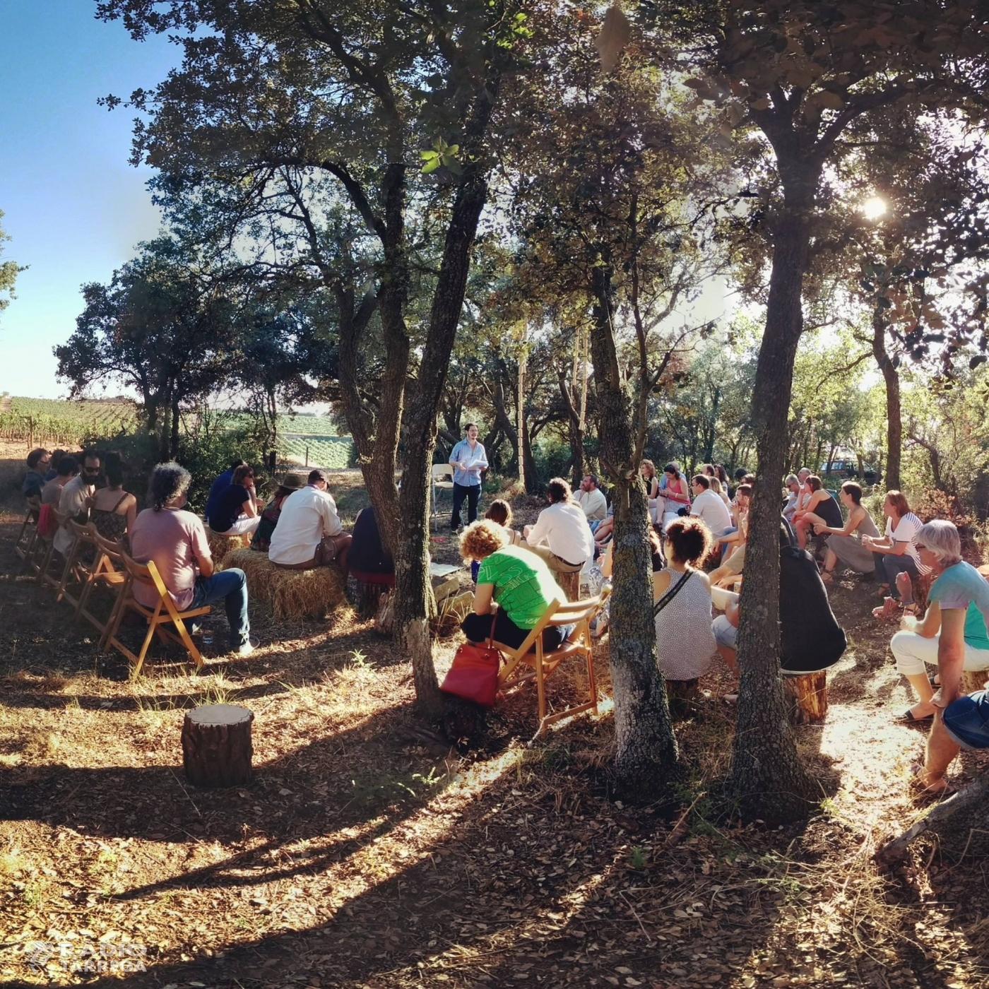 Torna el festival Comalada Art & Paraula a les vinyes del Celler Comalats