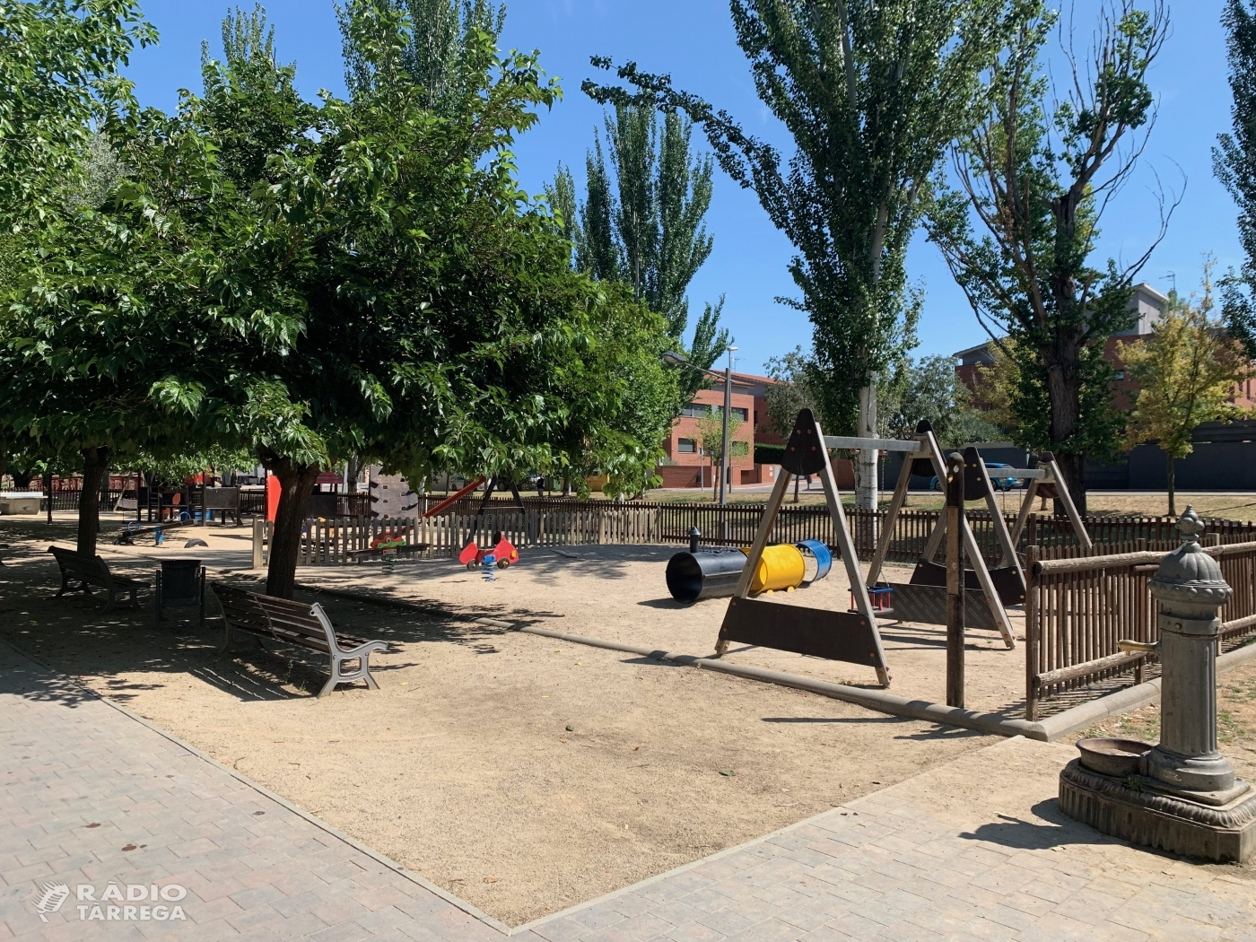 L'arranjament de la zona lúdica del passeig Josep Brufau, projecte guanyador del procés participatiu d'Agramunt