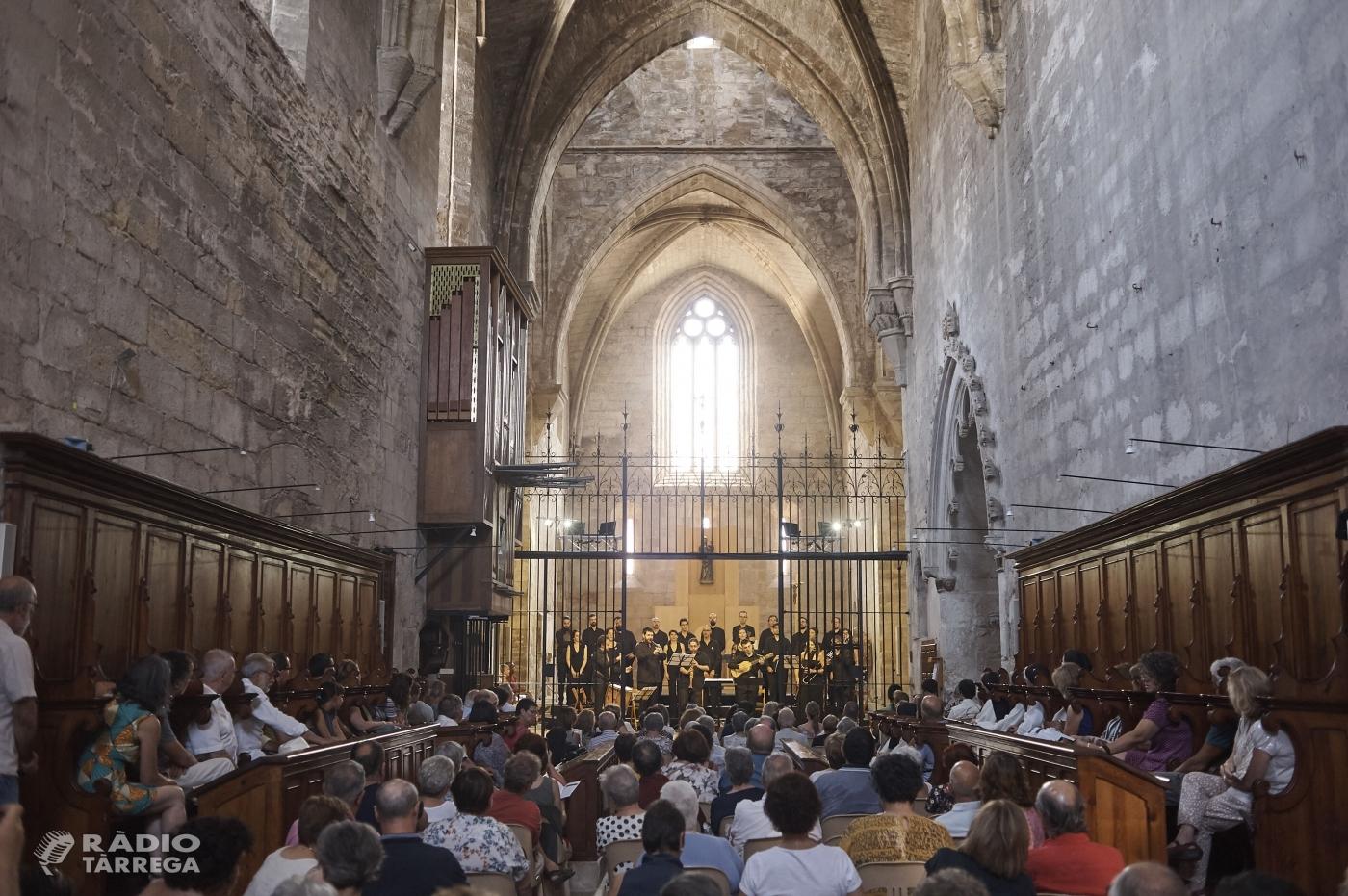 El cicle musical exclusiu 'La Pedra Parla' al Reial Monestir de Vallbona de les Monges reuneix 400 persones en dos dies