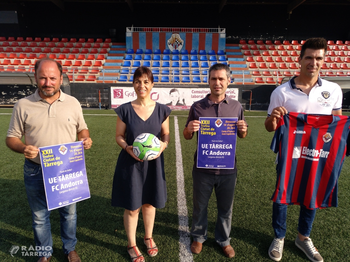 El CF Andorra, convidat de luxe al 22è Trofeu Ciutat de Tàrrega el dimecres 14 d'agost