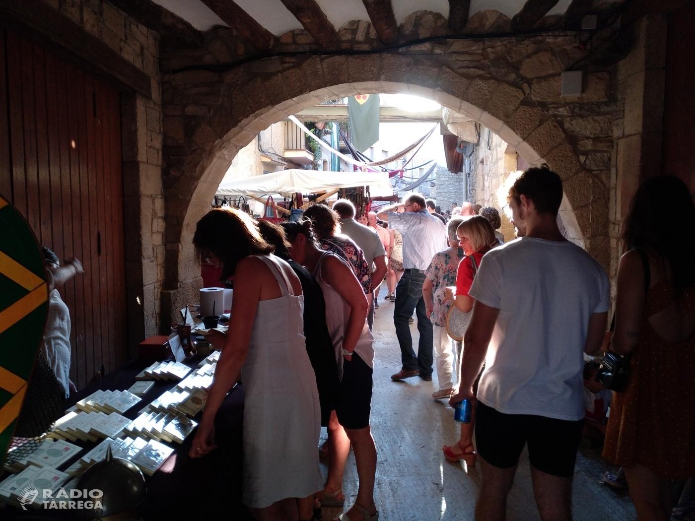 El mercat Medieval de Guimerà celebra el seu 25è aniversari amb més de 20.000 visitants