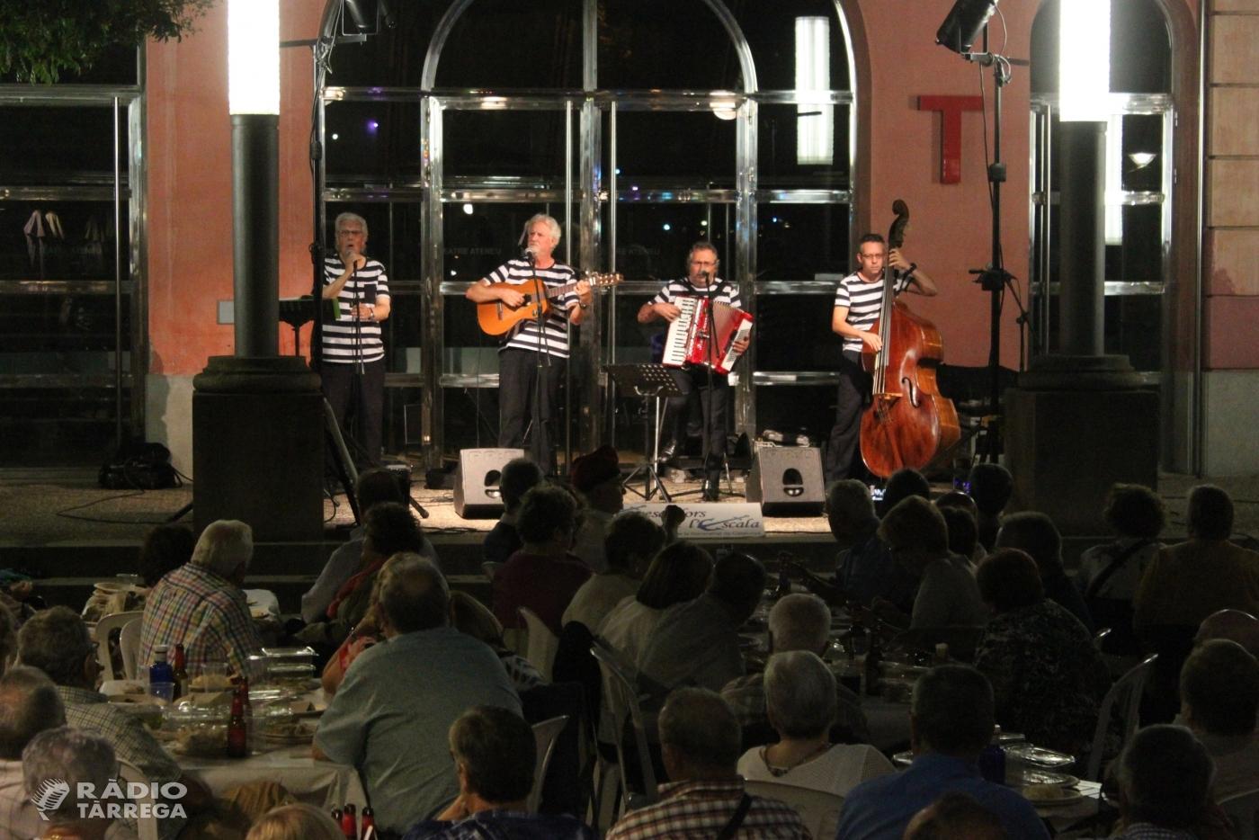 Molt de públic a la programació cultural d'estiu de Tàrrega, en què brillen els concerts del centenari de la Societat Ateneu