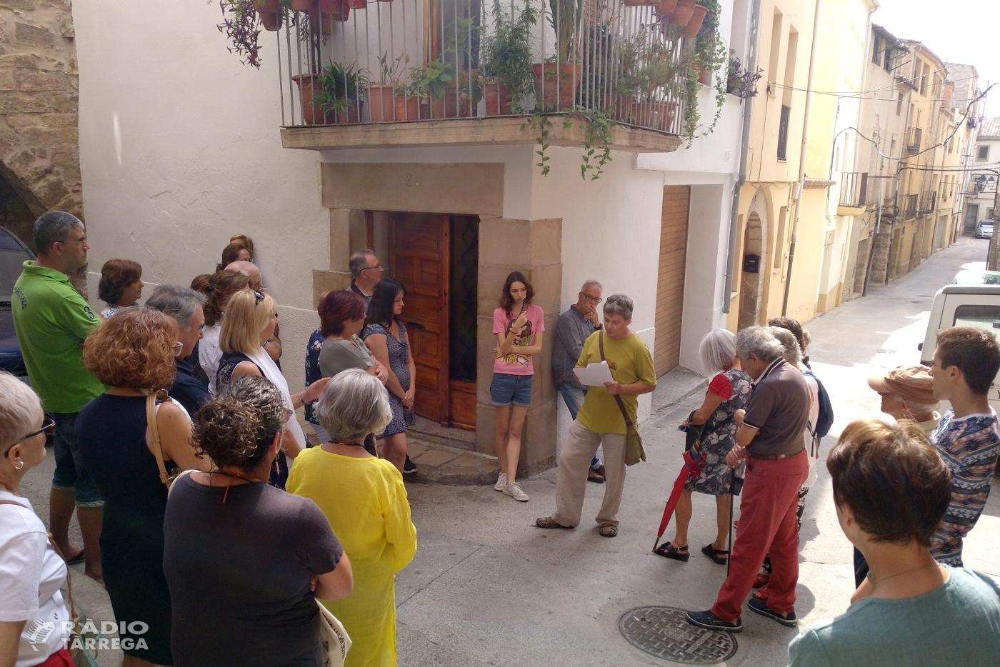Tàrrega promou el seu patrimoni jueu medieval amb una visita guiada al call