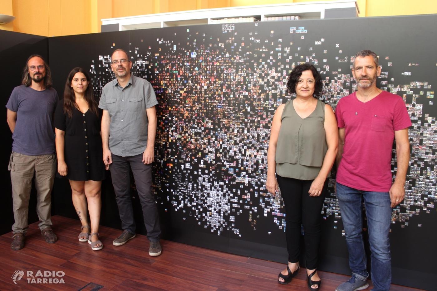 L'artista Pilar Rosado realitza un fotomosaic amb 16.000 imatges històriques de FiraTàrrega que exhibirà a l'Arxiu Comarcal de l'Urgell a partir del 5 de setembre