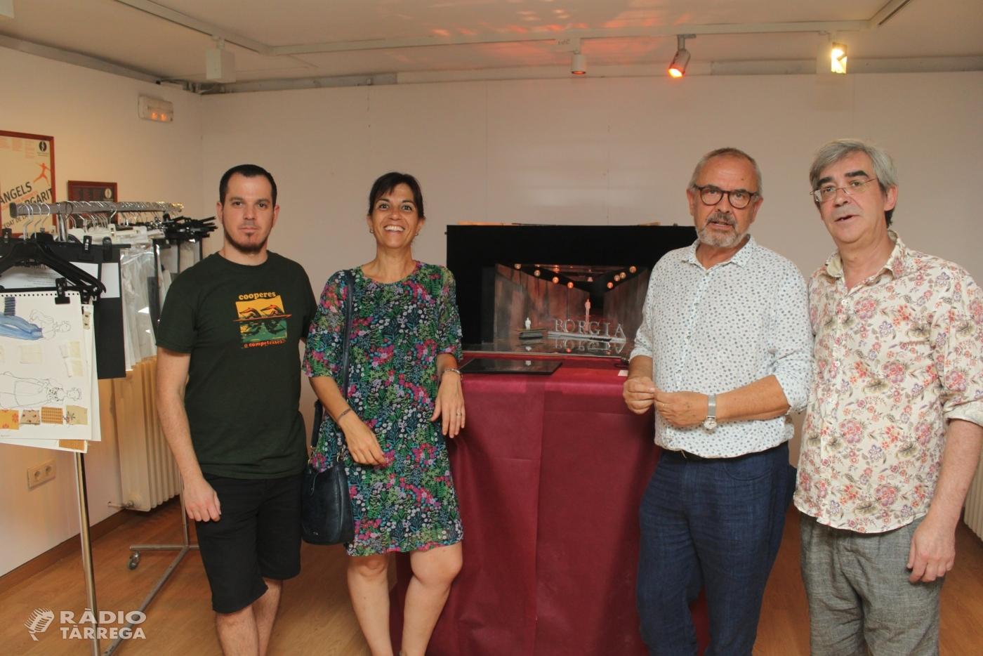 Tàrrega posa de relleu en una exposició l'obra de l'escenògraf Llorenç Corbella
